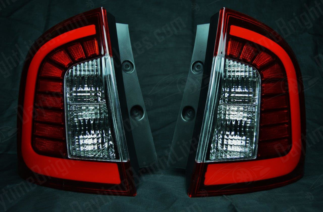 Drive Bright Ford Edge Led Tail Light Set Shadow Black