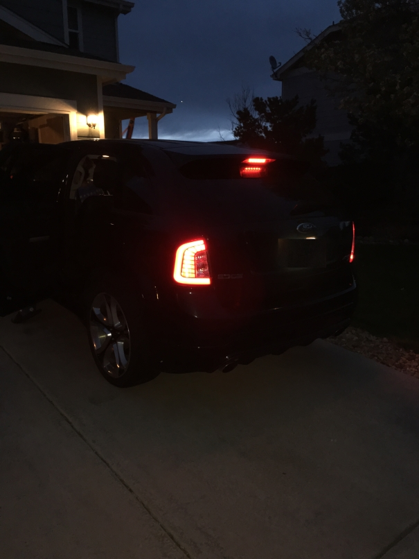Ford Edge Used >> Drive Bright | Ford EDGE SPORT LED Tail light Set – Shadow ...