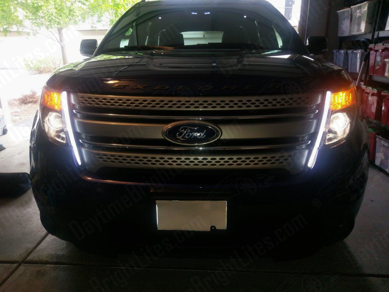 Ford Explorer Limited >> Drive Bright | Explorer LED Daytime Running Light Kit